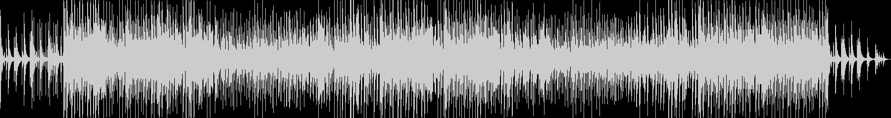 チルなピアノローファイヒップホップの未再生の波形