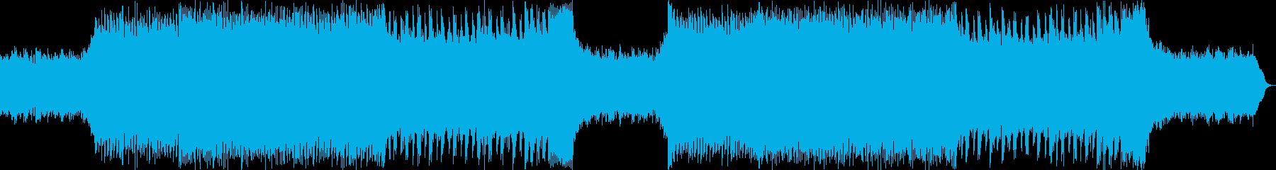 切ない雰囲気のアコースティックダンスBGの再生済みの波形