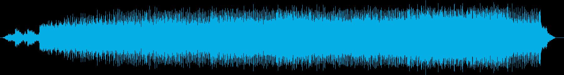 低く曇ったシリアスなロック・アンサンブルの再生済みの波形