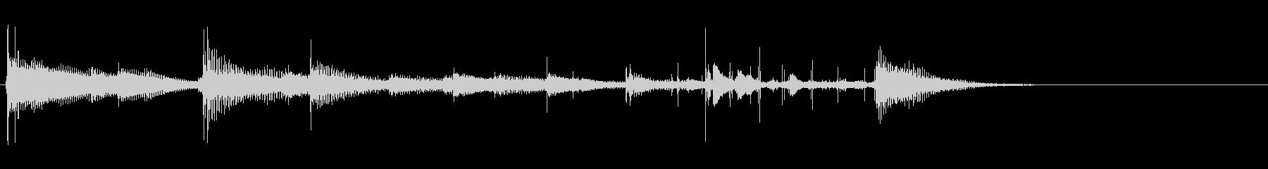 8bitゲーム風アイキャッチ音の未再生の波形