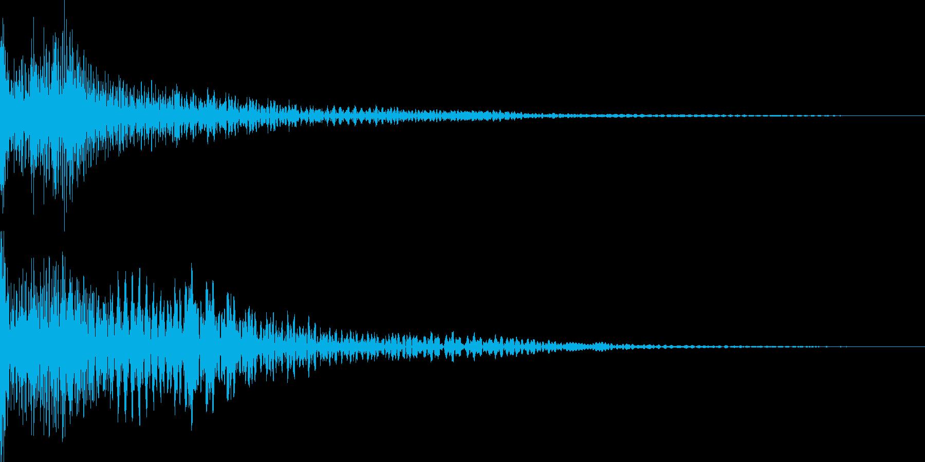 カジノ リール停止音(エジプト音階)の再生済みの波形