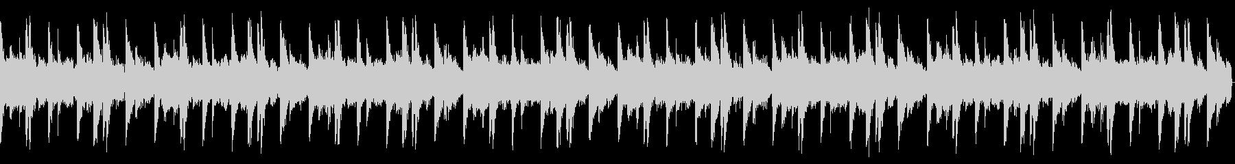 オールドスクールビート1 16小節の未再生の波形