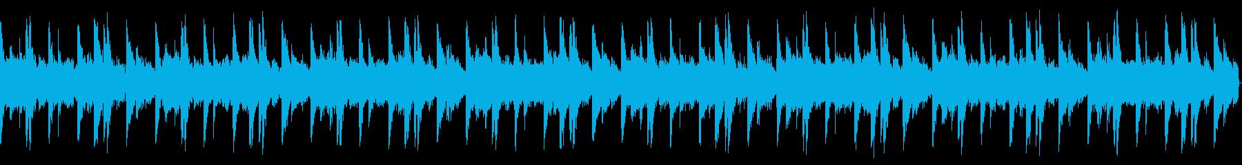 オールドスクールビート1 16小節の再生済みの波形