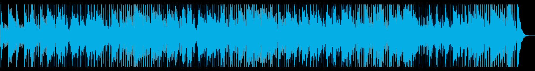 緊張感のあるフォークロックの再生済みの波形