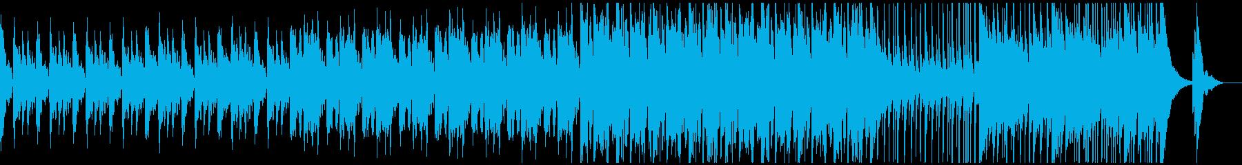 壮大なハリウッド系映画トレーラーの再生済みの波形