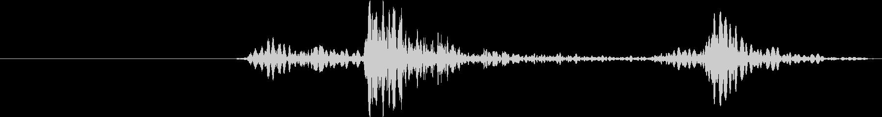 ヴィンテージカードア:オープン、カードアの未再生の波形