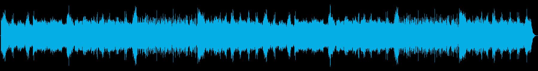 フルート、琴、マンドリン、弦楽器、...の再生済みの波形