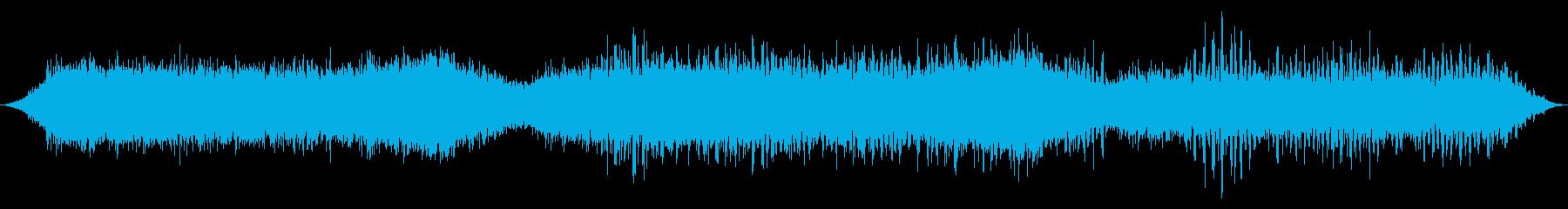 スペースドローン:メタルウィンドストームの再生済みの波形