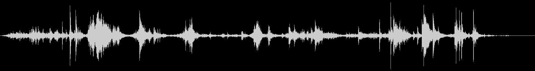 机や棚などをガサゴソ探す効果音 02の未再生の波形