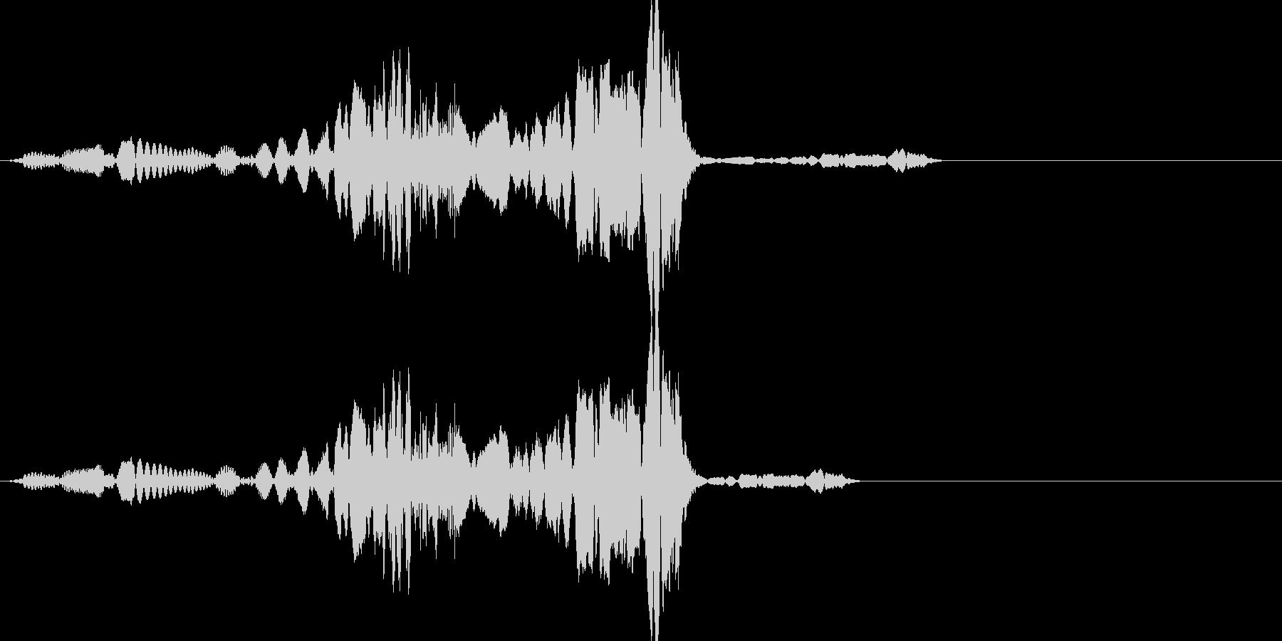 ビコン(click_042_ボタン)の未再生の波形