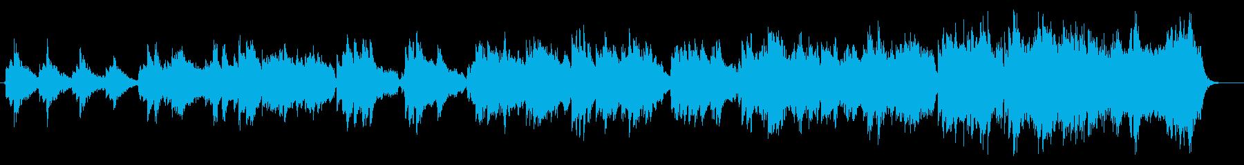 二胡、琵琶などを使用したアジアンな曲の再生済みの波形
