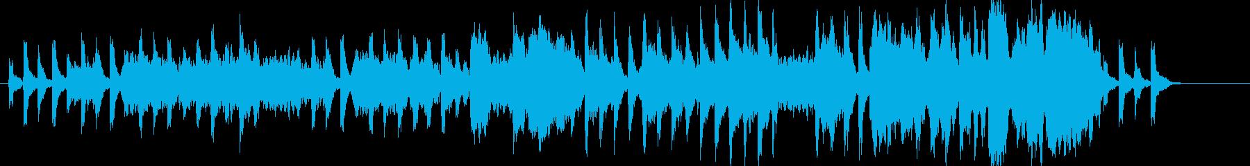 時間を刻むようなオーケストラの再生済みの波形