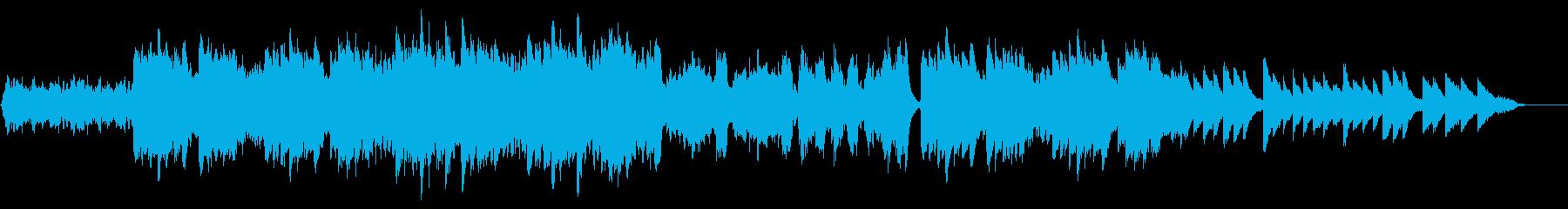 ハリウッド風ダークファンタジー、エピックの再生済みの波形