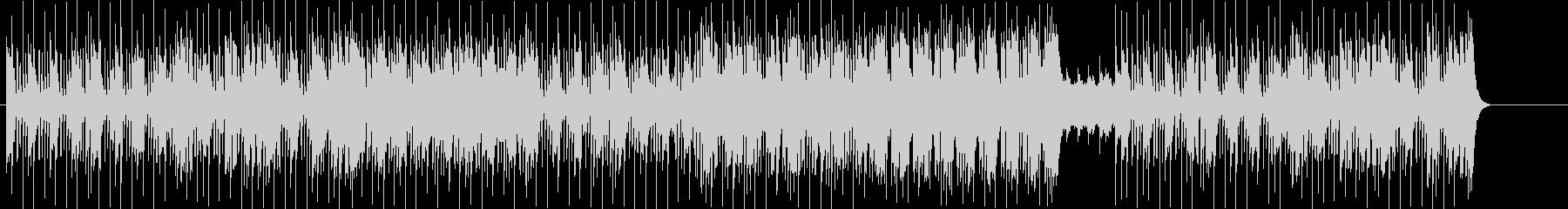粋なマイナー・ファンキーBGMの未再生の波形