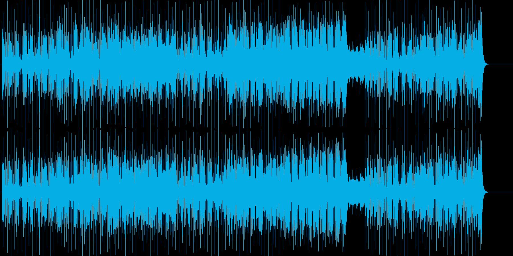 粋なマイナー・ファンキーBGMの再生済みの波形