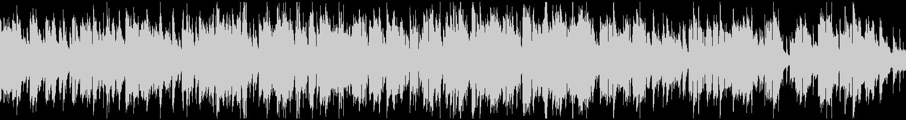 生演奏ソプラノサックスのジャズ※ループ版の未再生の波形