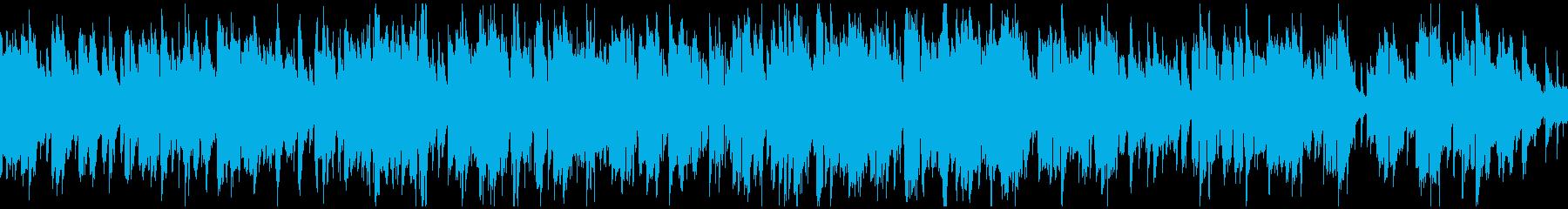 生演奏ソプラノサックスのジャズ※ループ版の再生済みの波形
