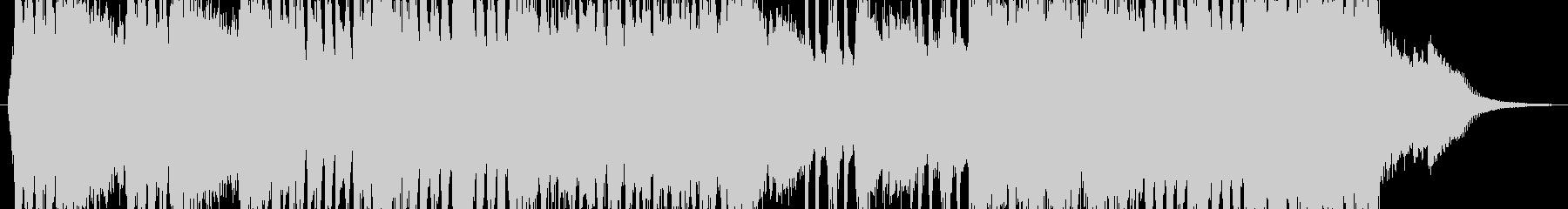 戦闘シーンを意識したオーケストラの未再生の波形