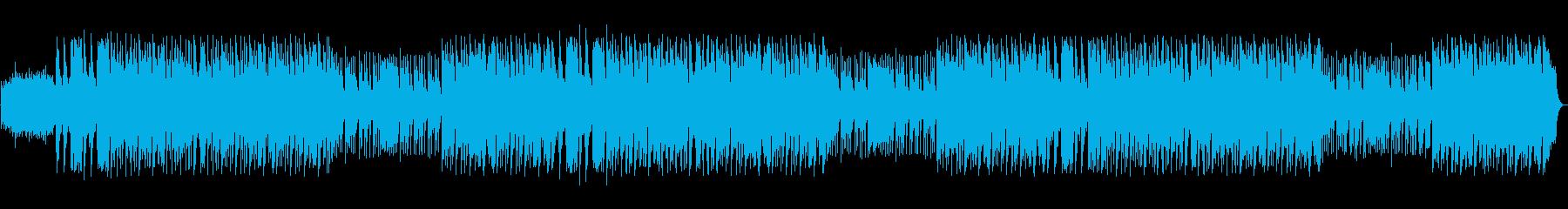 シンバルヒット、ダークショット、シ...の再生済みの波形