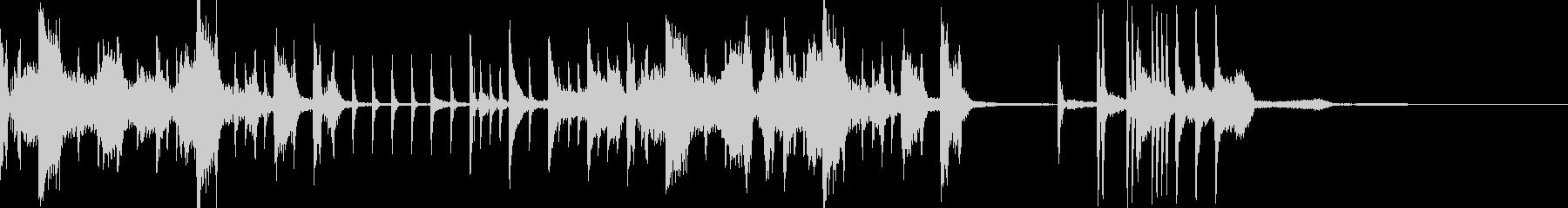 トゥワークなシンキングタイム音の未再生の波形