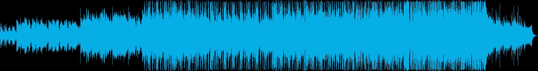 明るく爽やかなポップバラードの再生済みの波形