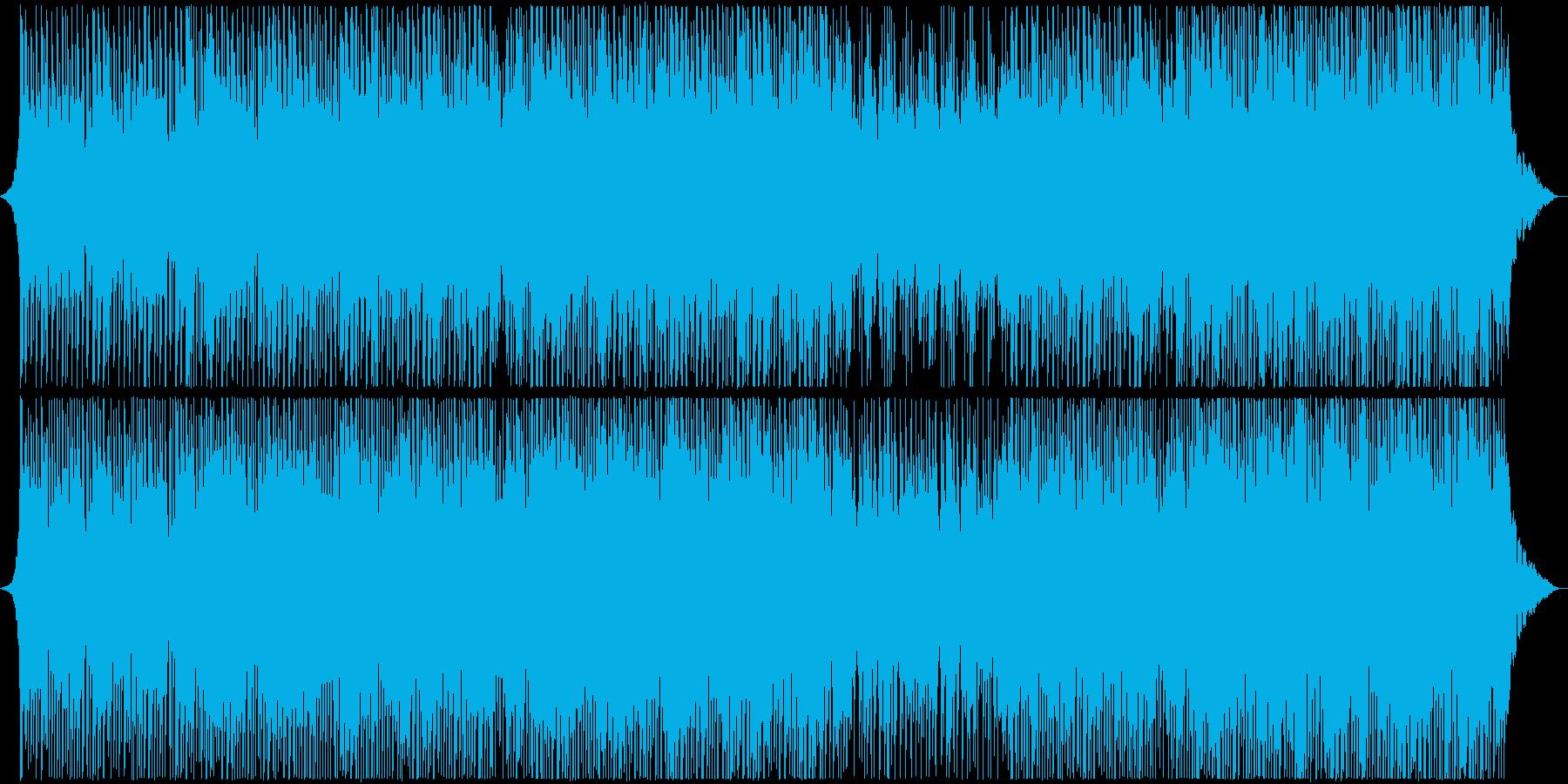 感動的で落ち着いた医療企業音楽の再生済みの波形