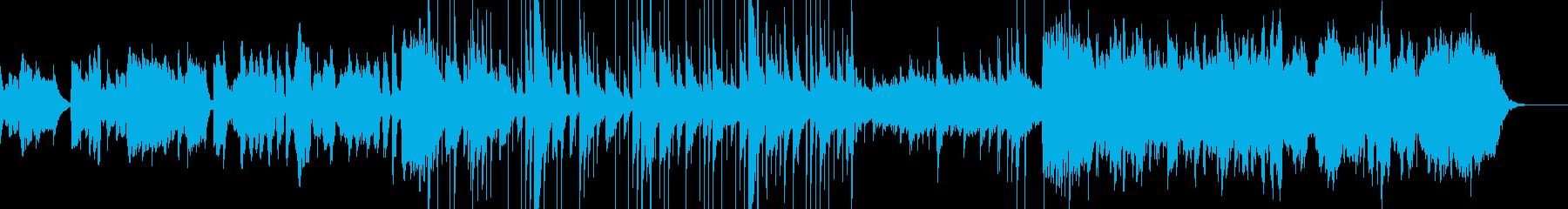 神秘的なRPGの村風ケルト楽曲の再生済みの波形