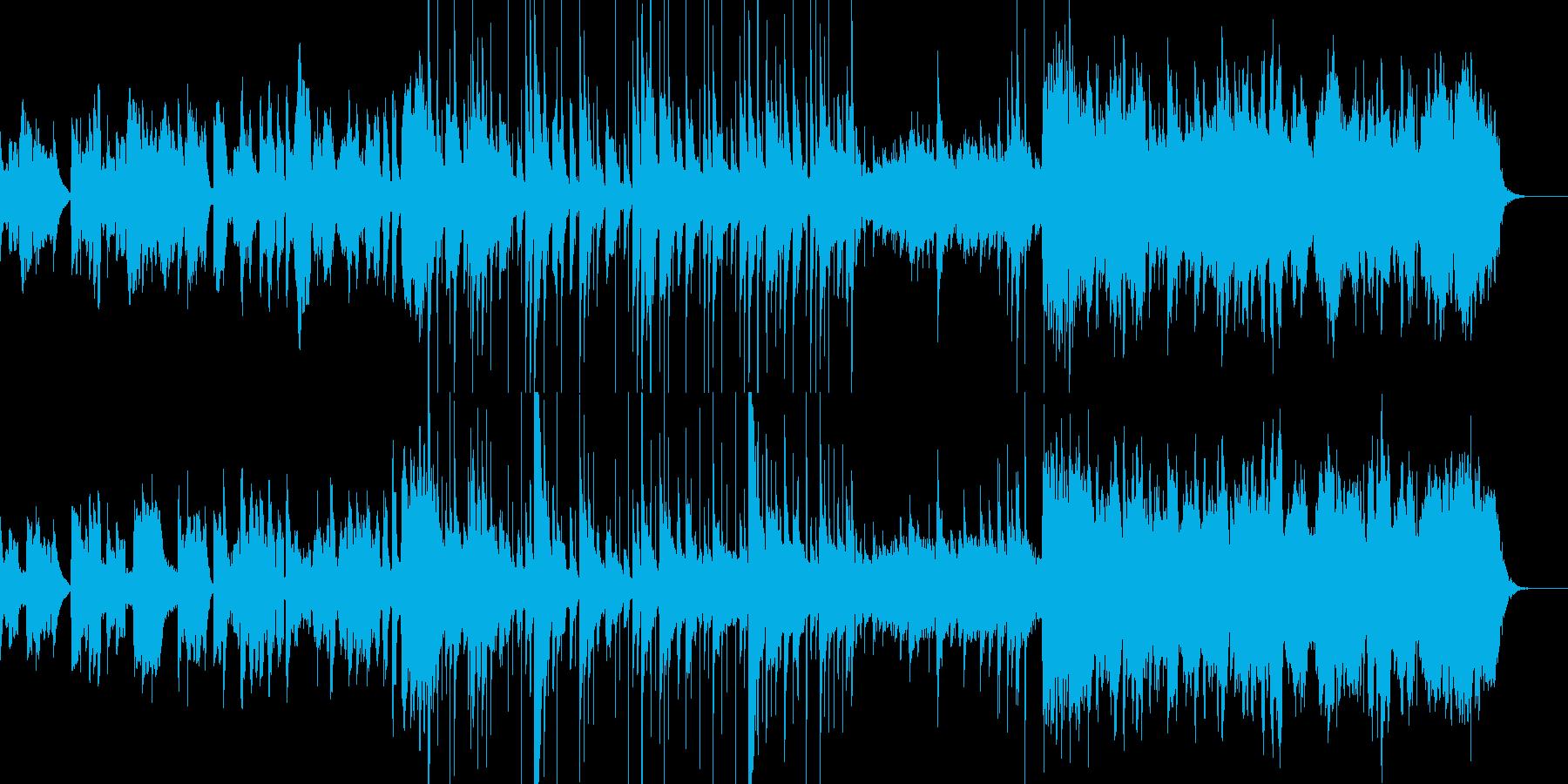 エルフの棲む村の再生済みの波形