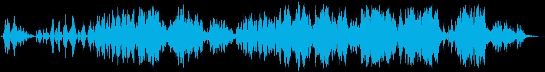 無力の再生済みの波形