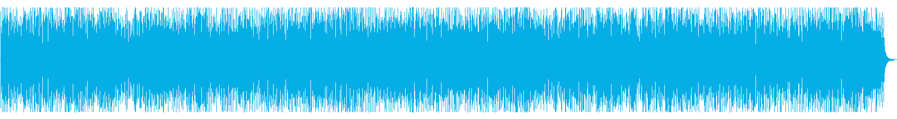 A fast, energetic and hard rock and roll piano band's reproduced waveform