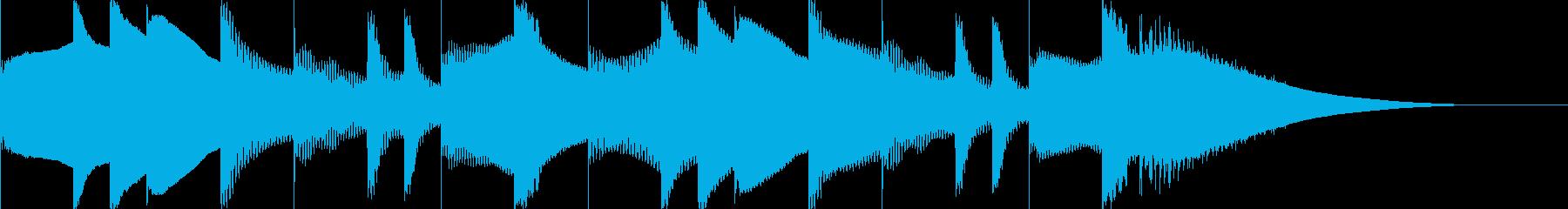 アホっぽいイメージの曲の再生済みの波形