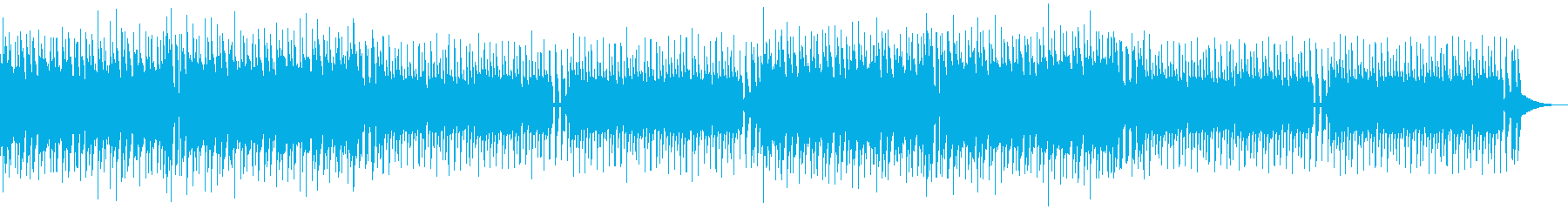 明るいアミューズメントスポーツEDMの再生済みの波形