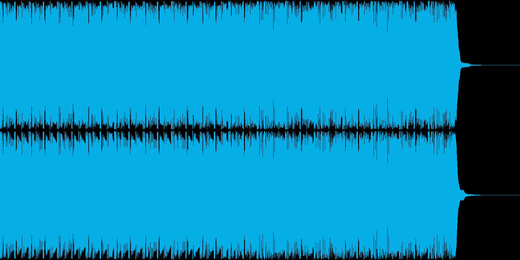 コミカルで不思議なゲームのピコピコBGMの再生済みの波形