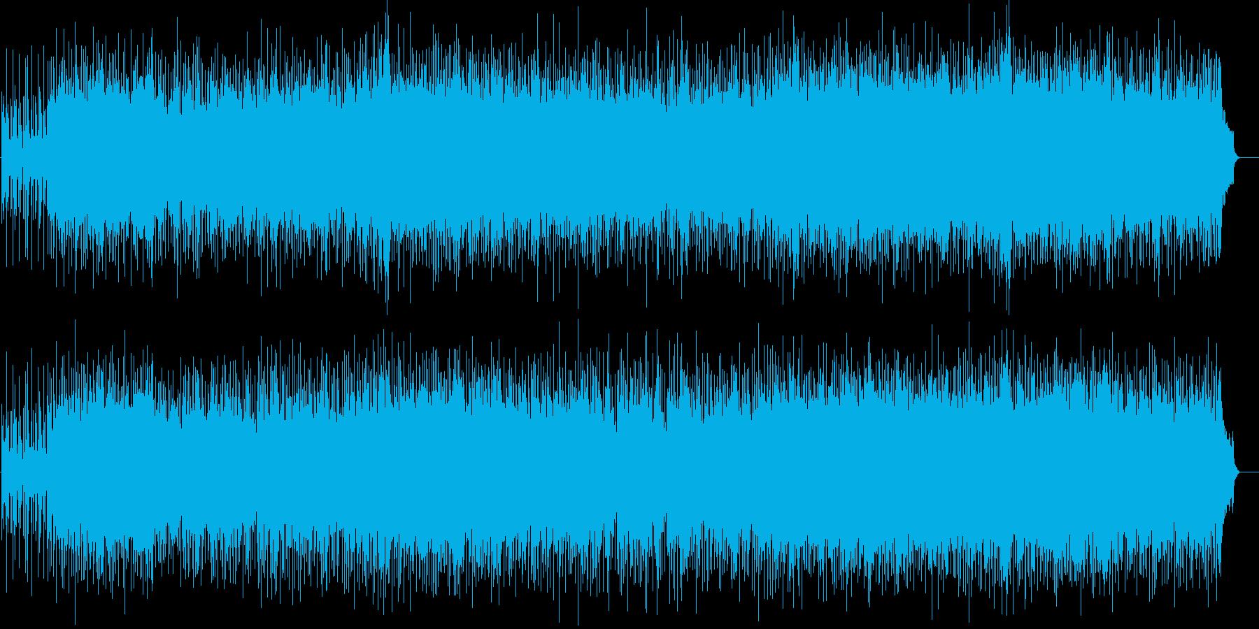 バラエティ番組タイトルBGMの再生済みの波形