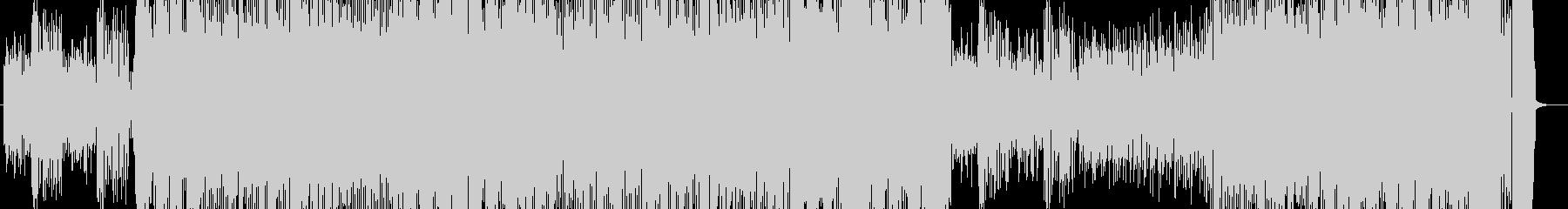 陽気なエレクトロスウィングの未再生の波形