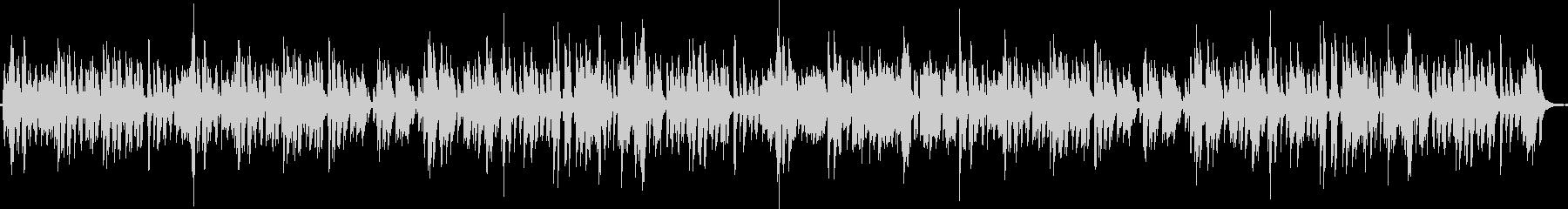古いジャズ、ブルース調・レコード再生風の未再生の波形