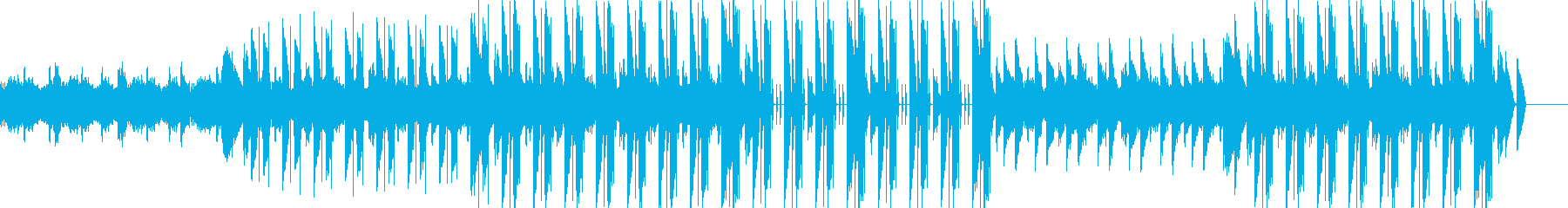 妖しい雰囲気のアンビエントテクノの再生済みの波形