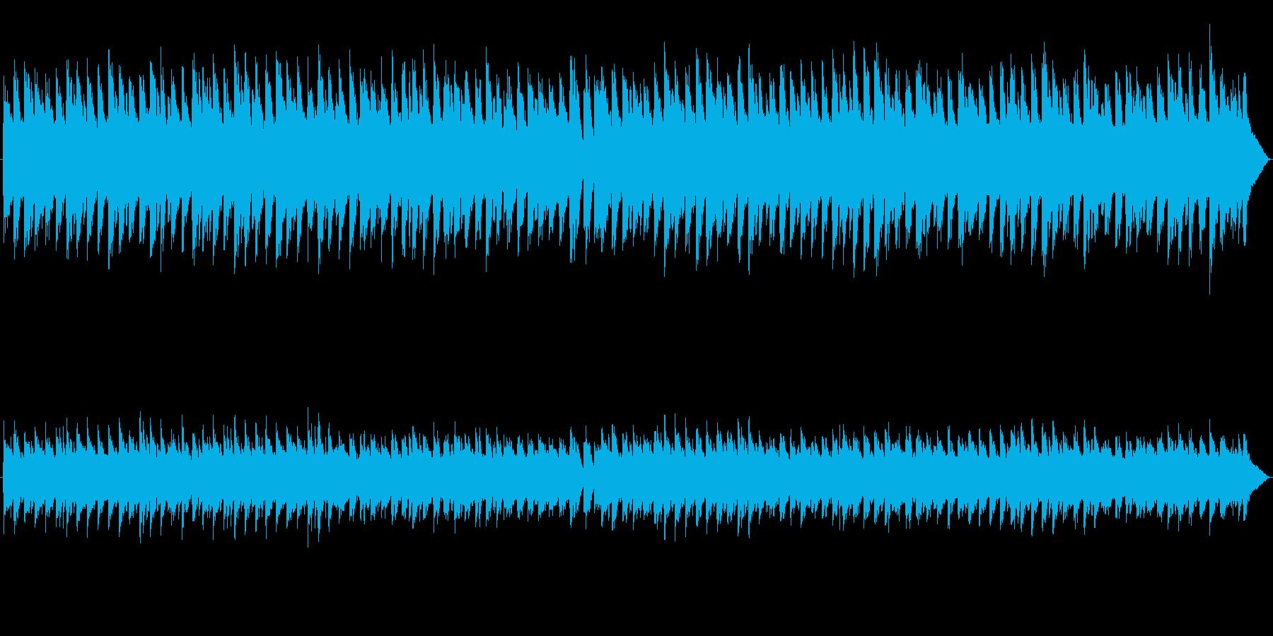 妖しい雰囲気の、どこかさびしげな曲の再生済みの波形