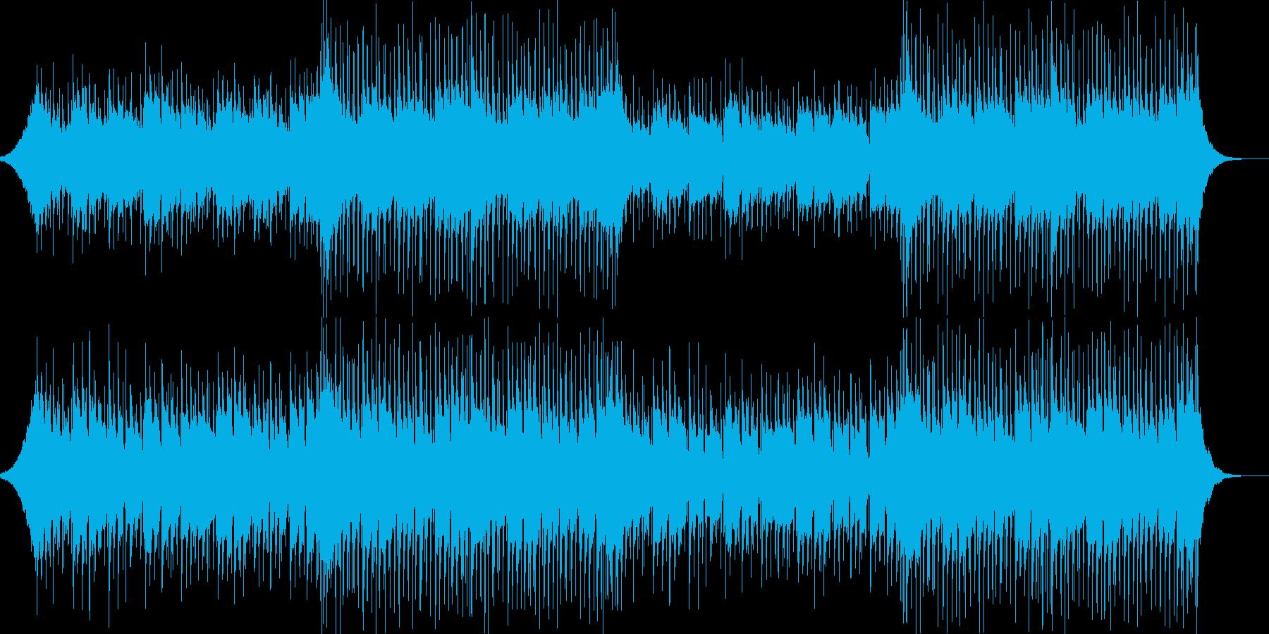 CMや映像、ウクレレ21、ハッピー、aの再生済みの波形