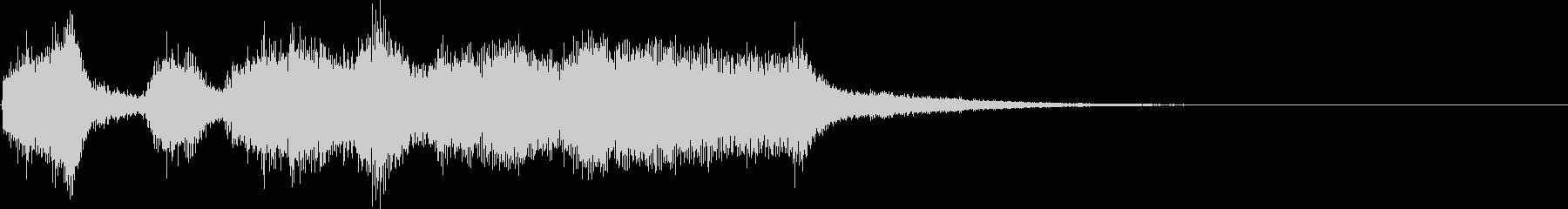 ファンファーレ_01の未再生の波形