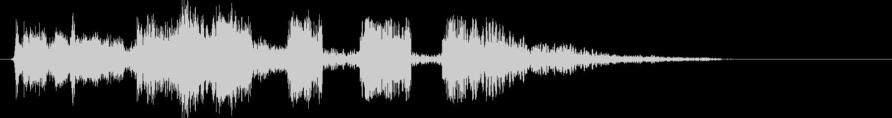 FMラジオジングル制作キットComon!の未再生の波形