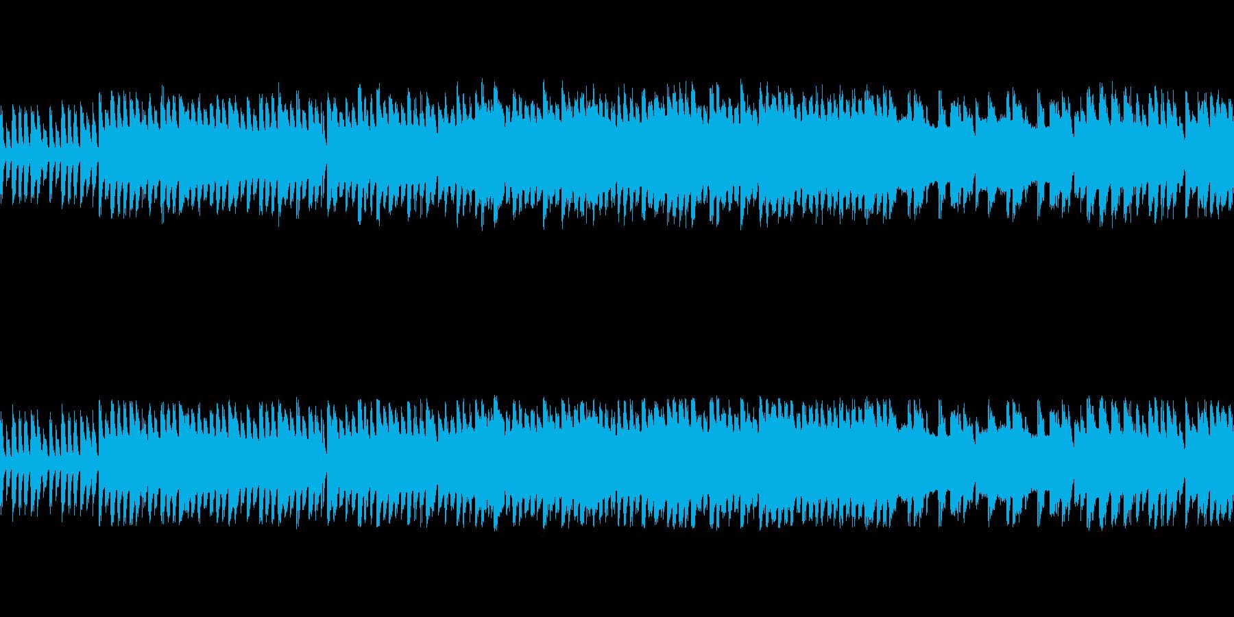 ループ レトロRPG-戦闘/バトルの再生済みの波形