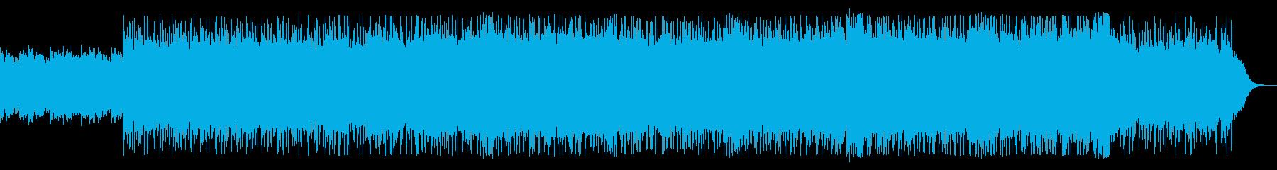 シンプル/不気味/毒々しい/不安/テクノの再生済みの波形