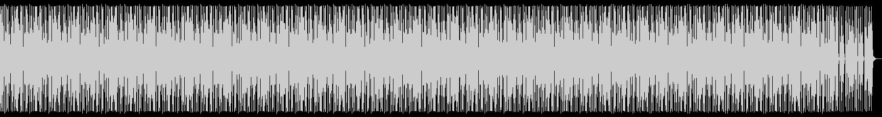 いたずら ハロウィン マリンバ ダークの未再生の波形