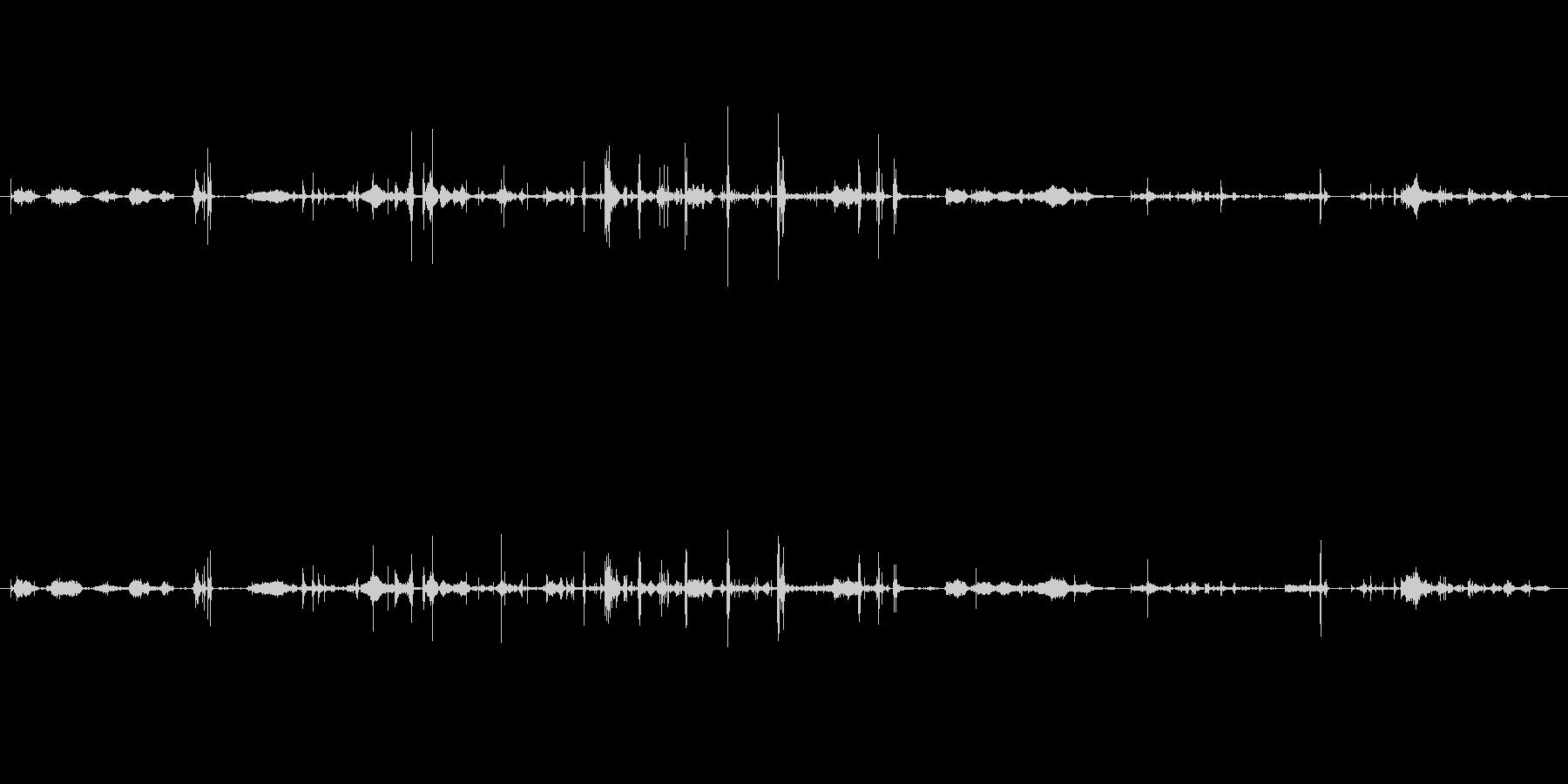 紙 トランプハンドル02の未再生の波形