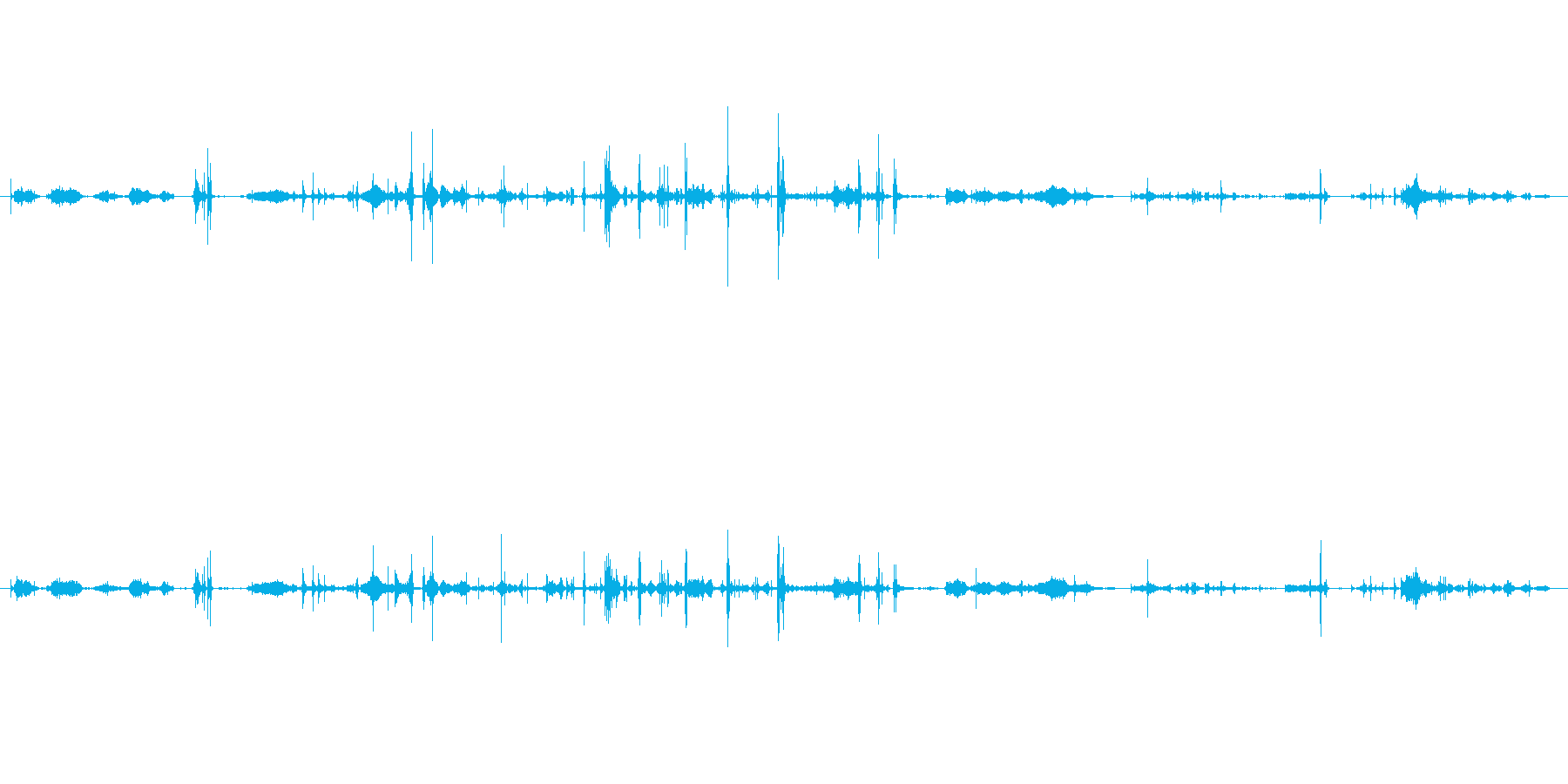 紙 トランプハンドル02の再生済みの波形