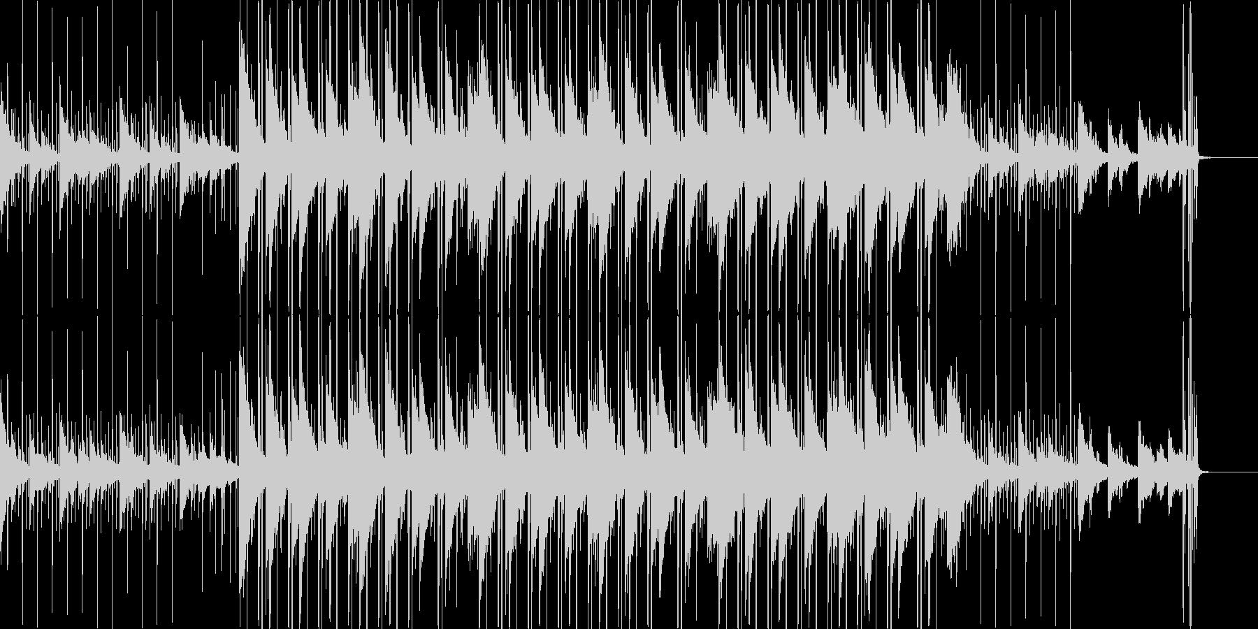 切なく美しいメロディの和風ヒップホップの未再生の波形