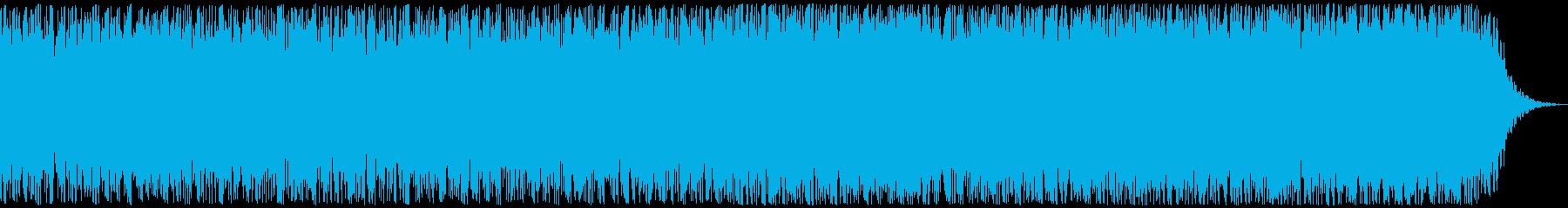 壮大な予告、オーケストラCM、30秒の再生済みの波形