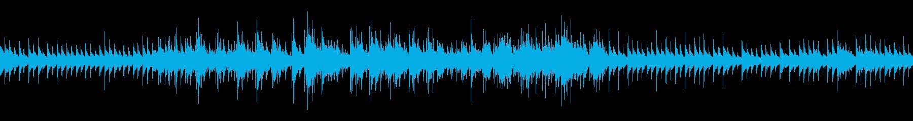 ロマンティックジャズ (ループ仕様)の再生済みの波形
