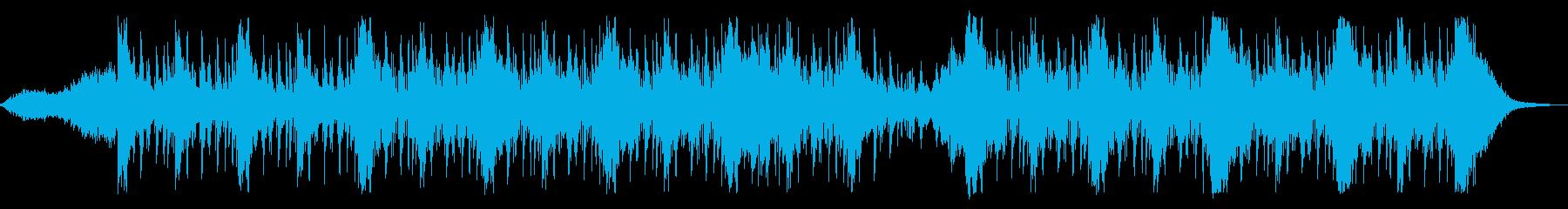 緊張感あるシネマティック2の再生済みの波形